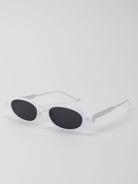 Coloured Frame Retro Sunglasses