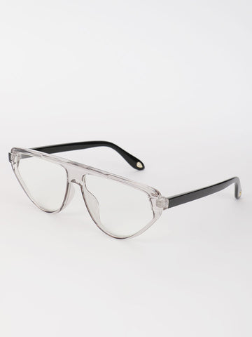 Clear Lens Pilot Sunglasses