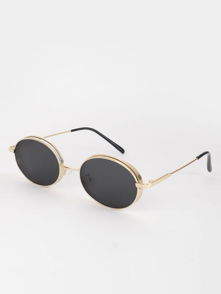 Coloured Lens Retro Sunglasses