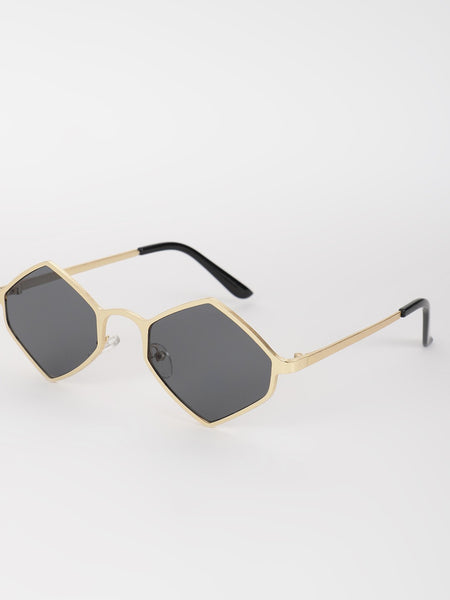 Hexagon Retro Sunglasses