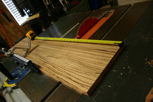 Creating the Zebrawood Book Wedge