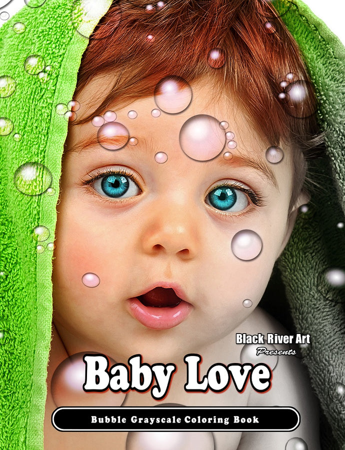Video - Inside Look of Baby Love Bubble Grayscale Coloring Book