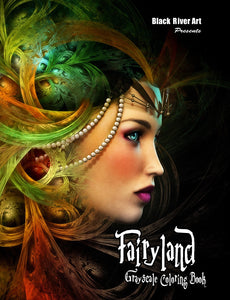 Video - Inside Look at Fairyland Grayscale Coloring Book