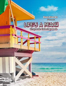 Video - Inside Look of Life's A Beach Grayscale Coloring Book