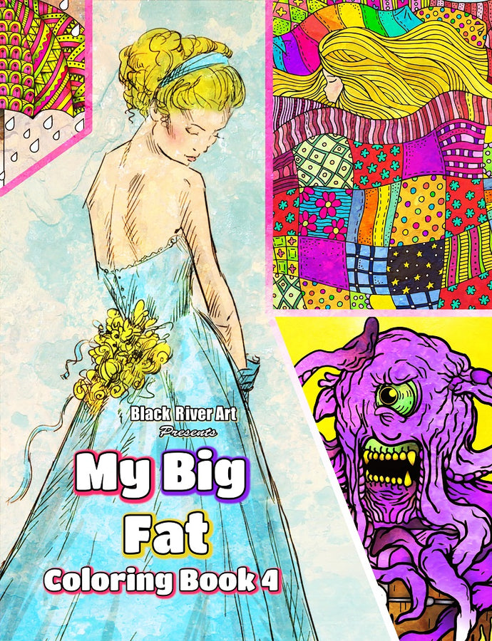 Video - Inside Look of My Big Fat Coloring Book 4