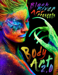 Body Art 2.0 Grayscale Coloring Book