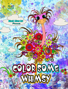 Color Some Whimsy Coloring Book