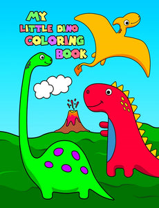 My Little Dino Coloring Book