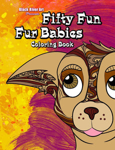 Fifty Fun Fur Babies Coloring Book