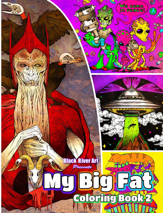 My Big Fat Coloring Book 2