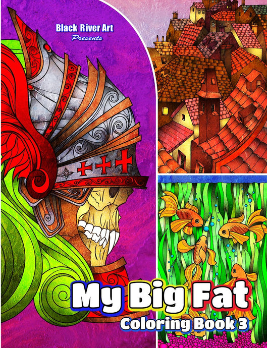 My Big Fat Coloring Book 3