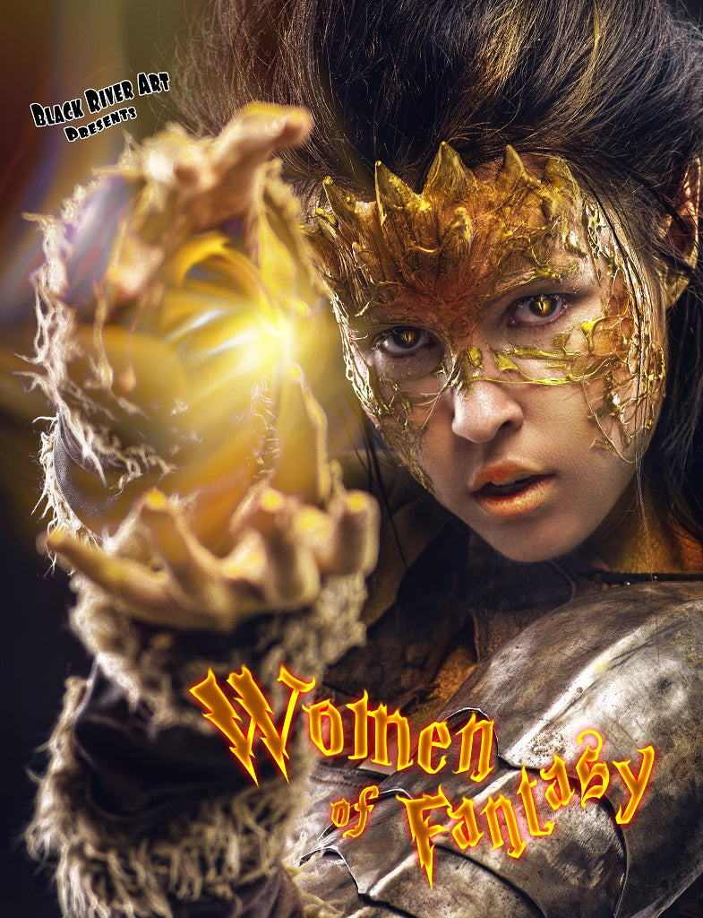 Women of Fantasy Grayscale Coloring Book