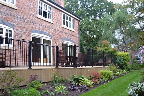 Metal Railings, Posts Accessories