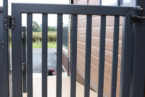 UPVC Deck Gates