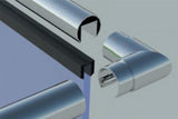 90 Degree Horizontal Corner For Split Tube Handrail 48.3mm
