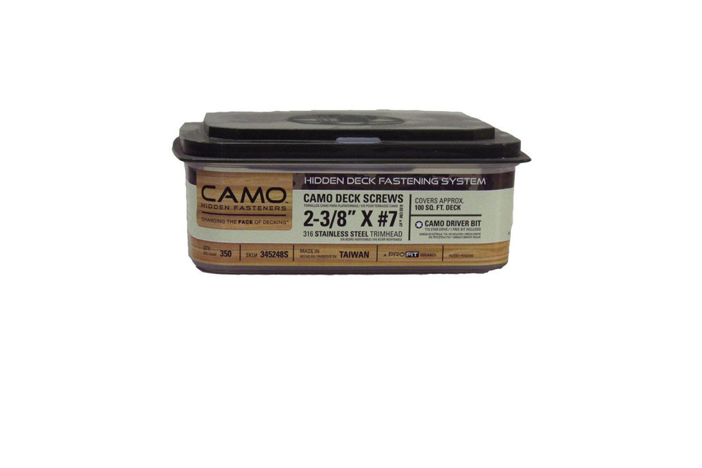 Camo Hidden Fasteners (Screws) – Deck Supermarket