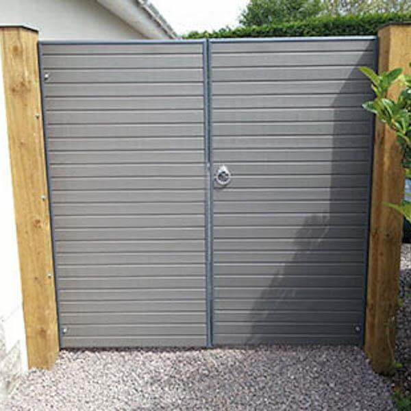 Eco Woodgrain Double Gates