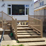 Super Rail UPVC Stair Balustrade