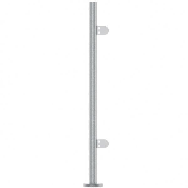 Stainless Steel Balustrade End Post 48.3mm x 972mm Or 1100mm High