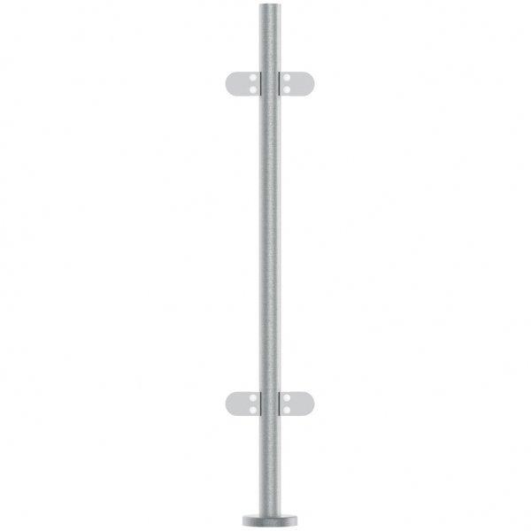 Stainless Steel Balustrade Mid Post 48.3mm x 972mm Or 1100mm High