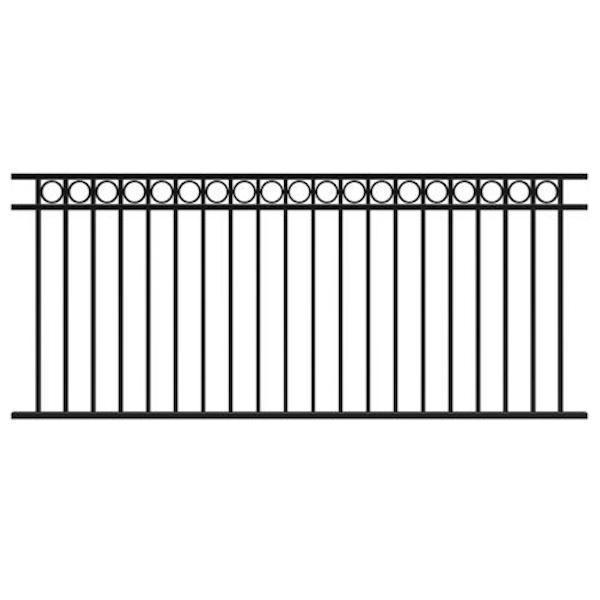 Fortitude Circles Railing Panel 2387mm x 1016mm