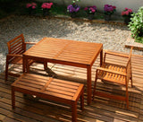 Owatrol Aquadecks on bench and decking