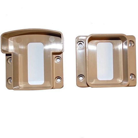 Super Rail Handrail Brackets Pack of 2(1 x Top- 1 x Bottom)