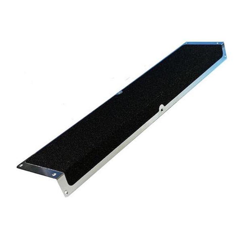 Anti Slip Aluminium Step Plate 120mm x 45mm x 635mm