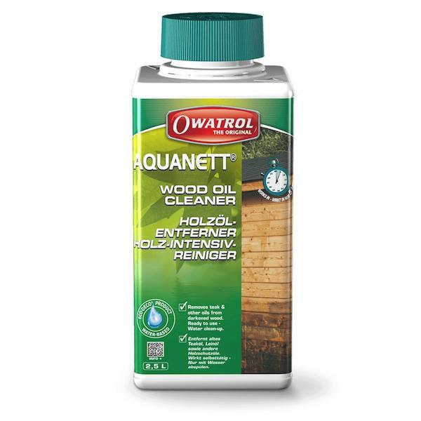 Owatrol Aquanett - Solvent free wood oil remover