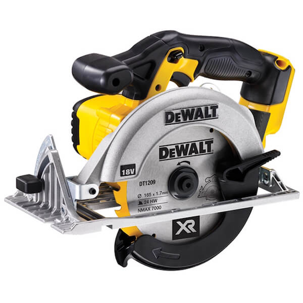 DeWALT DCS391N 165mm XR Premium Circular Saw 18 Volt Bare Unit