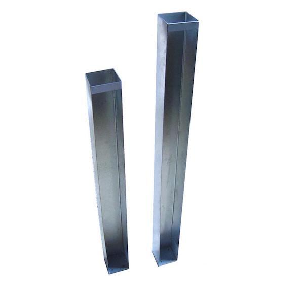 Super Rail Galvanised Steel Post Insert