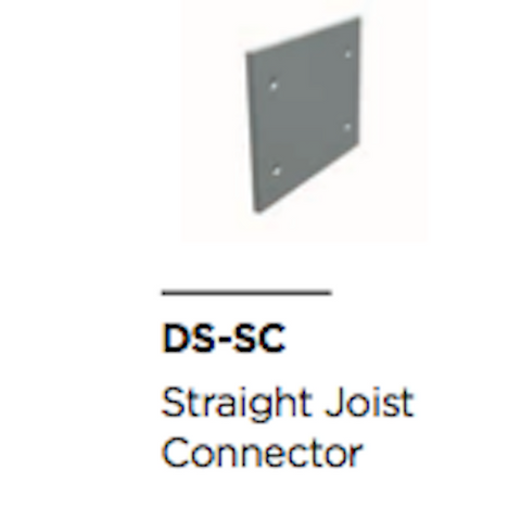 Aluminium Joist Straight Connector