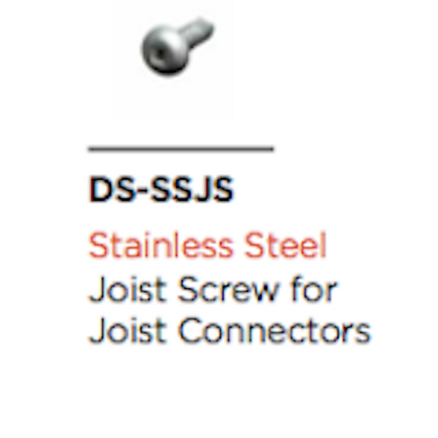 Aluminium Joist Bracket Screws 13mm (Pack200)