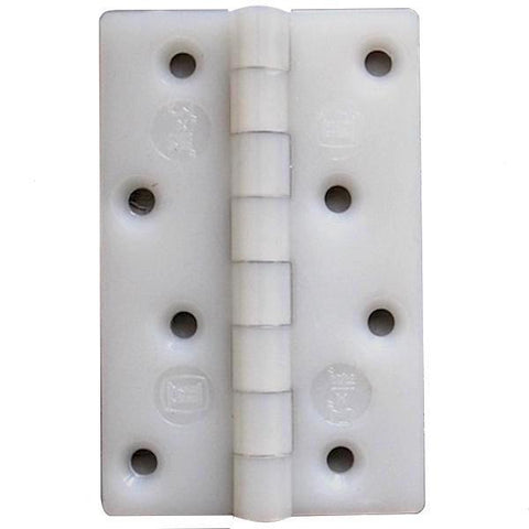 "White Nylon Hinges (pair) 3"" x 1"""