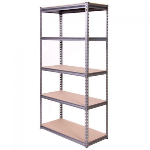 Silver Vein Heavy Duty Elite 5 Tier Shelving Unit