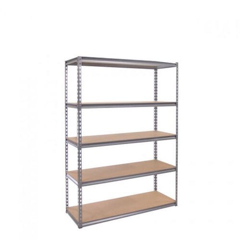 Silver Vein Heavy Duty Extra Wide 5 Tier Shelving Unit