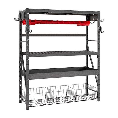 Silver Vein Nevada Combo Shelving Unit