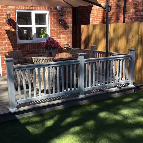 Super Rail UPVC Balustrade