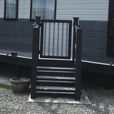 Super Rail Premium Foiled Gate with Composite Hinges & Lockable Latch