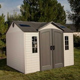 Lifetime Apex Roof Shed 10' x 8' Single or Dual Entrance