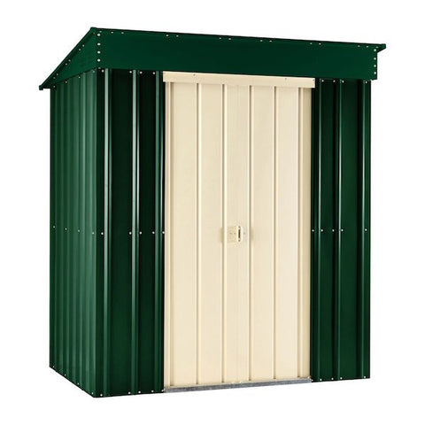 Lotus Pent Roof Metal Shed Range
