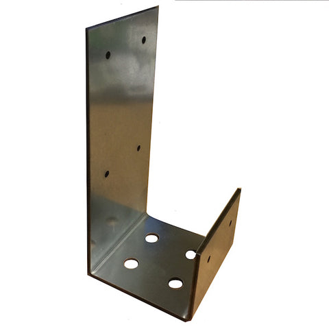 Timber Post Bracket & Timber Post Insert (with 6 x 40mm screws)