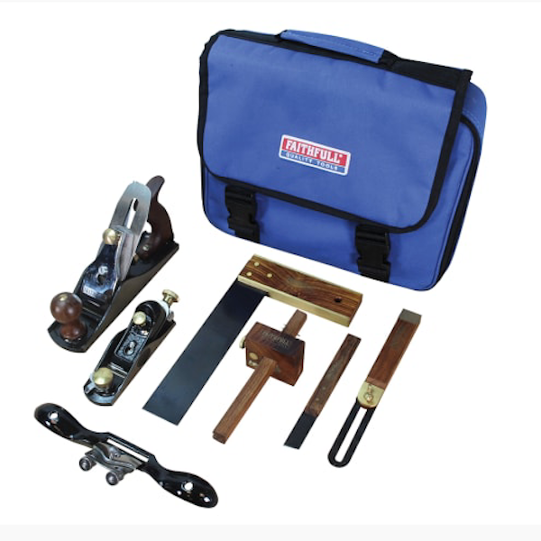 Faithfull Carpenters Tool Set of 7