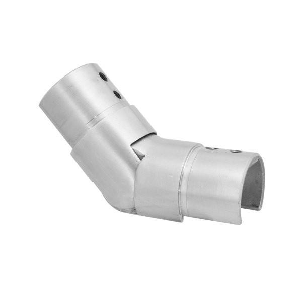 Adjustable Connector - upwards For Split Tube 48.3mm