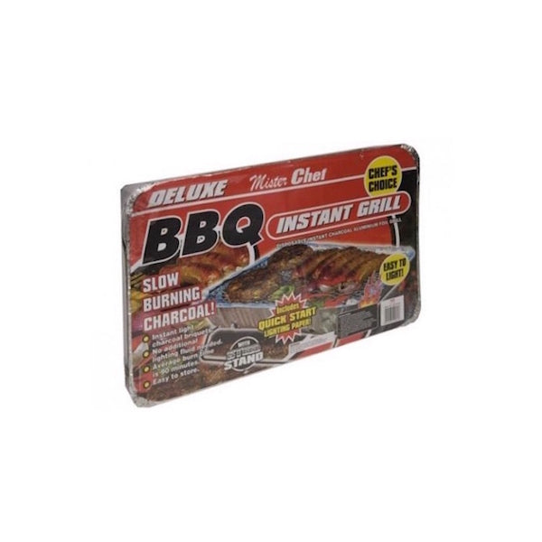 4 Pack Party Disposable BBQ