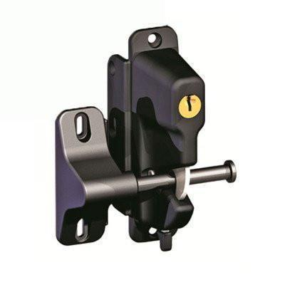 Gravity Gate Latch With Key Lock Black Or White Deck