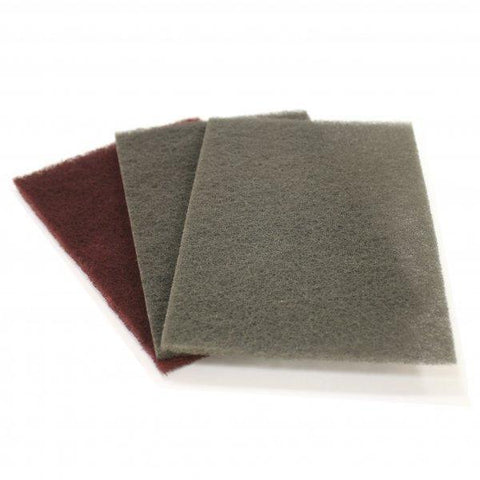 Extra Fine Abrasive Polishing Cloth Silicon Carbide - 152mm x 229mm (Grey)