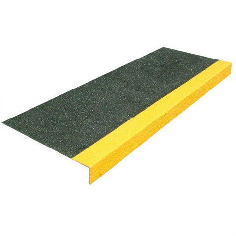 Fibre Step Tread Covers 1500 x 250 x 4mm 55mm Turn Down
