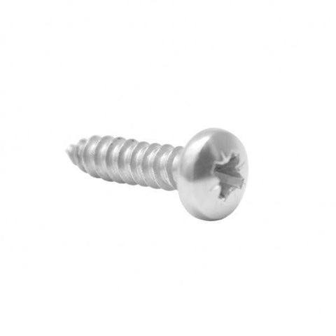 M5 Pan Head Self Tapping Screw For Handrail Brackets S/S 316 20mm long