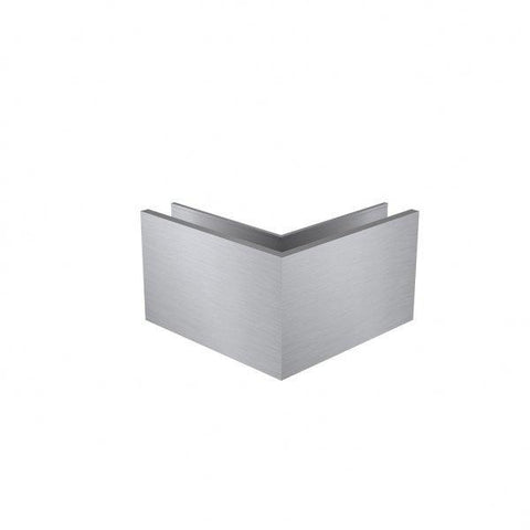 Slim-Wedge Loc Base Fit Corner Anodised Aluminium 200mm Legs